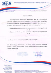Referencje Pruszcz Gadański